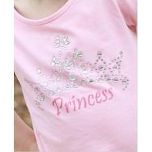 Pink Princess Tiara Tee
