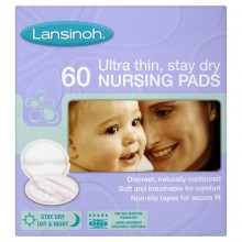 Lansinoh Disposable Nursing Pad's (60)