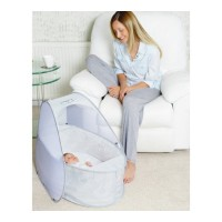 Koo-di Pop Up Travel Bassinette Grey