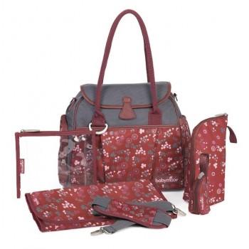 Babymoov Style Changing Bag - Cherry