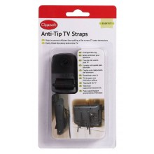 Clippasafe Home Safety Anti-Tip Tv Straps