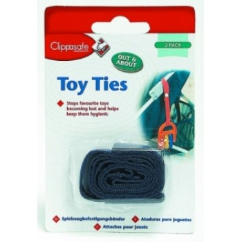 Clippasafe Toy Ties