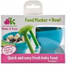 Annabel Karmel Food Masher and Bowl