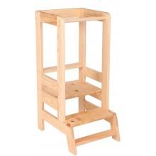 MeowBaby Wooden Kitchen Helper - natural