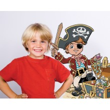 Themed Room Stickers Pirates
