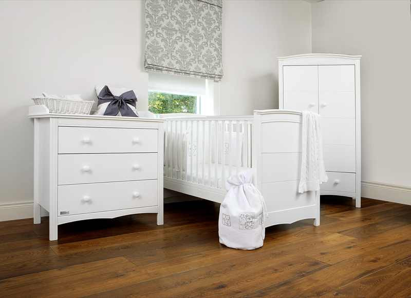 3 Pc Deal - Cot Bed, Wardrobe & Chest of Drawers Special