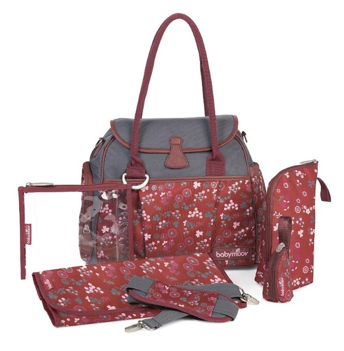 caf6a35bdfd8c Babymoov Style Changing Bag - Cherry : HeyMama.ie - Mother & Baby ...