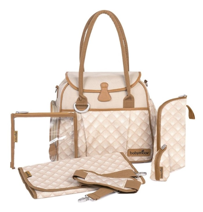 2ab69118b9160 Babymoov Style Changing Bag - Taupe : HeyMama.ie - Mother & Baby ...