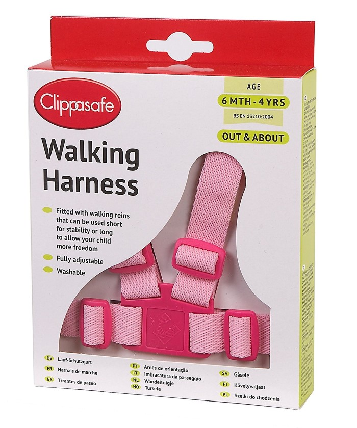 Clippasafe Walking Rein And Harness