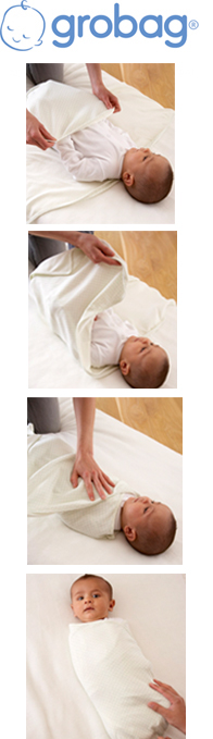 Grobag Swaddle - How To