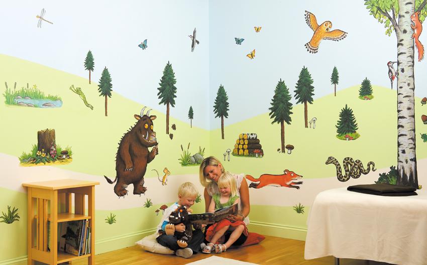 pics photos the gruffalo fun to see wall sticker make buy peek a boo fun to see jungle safari 44 room stickers